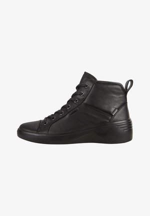 SOFT  - Lace-up ankle boots - black/black