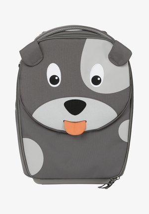 KINDERKOFFER HUND - Wheeled suitcase - gray