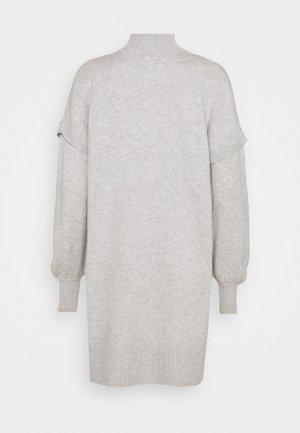 Jumper dress - grey light