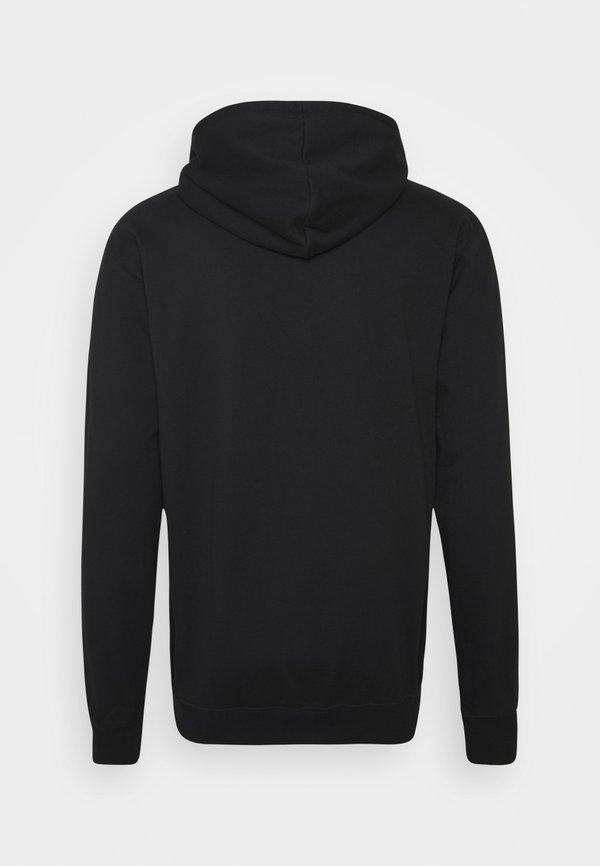 Cleptomanicx GULLMASK - Bluza z kapturem - black/czarny Odzież Męska WNMM
