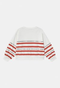 Patrizia Pepe - FELPA RIGATA - Sweater - white - 1