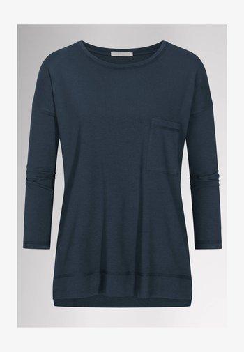 HOMEWEAR SHIRT SERIE NIGHT2DAY - Pyjama top - night blue