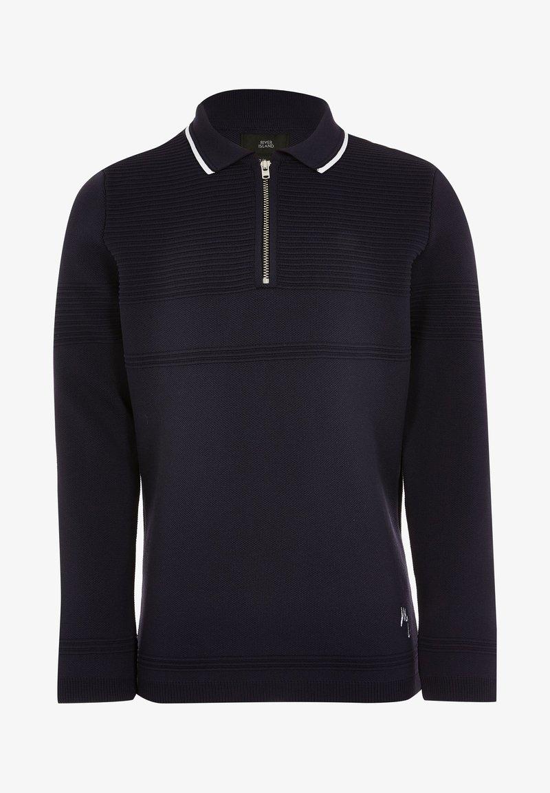 River Island - Polo shirt - navy