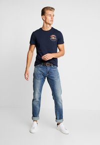 s.Oliver - Jeans Straight Leg - blue denim - 1