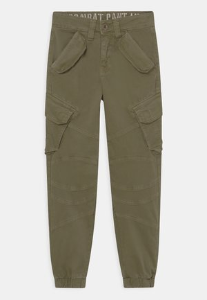 COMBAT - Pantaloni cargo - olive