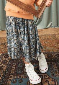 Next - A-line skirt - blue - 0