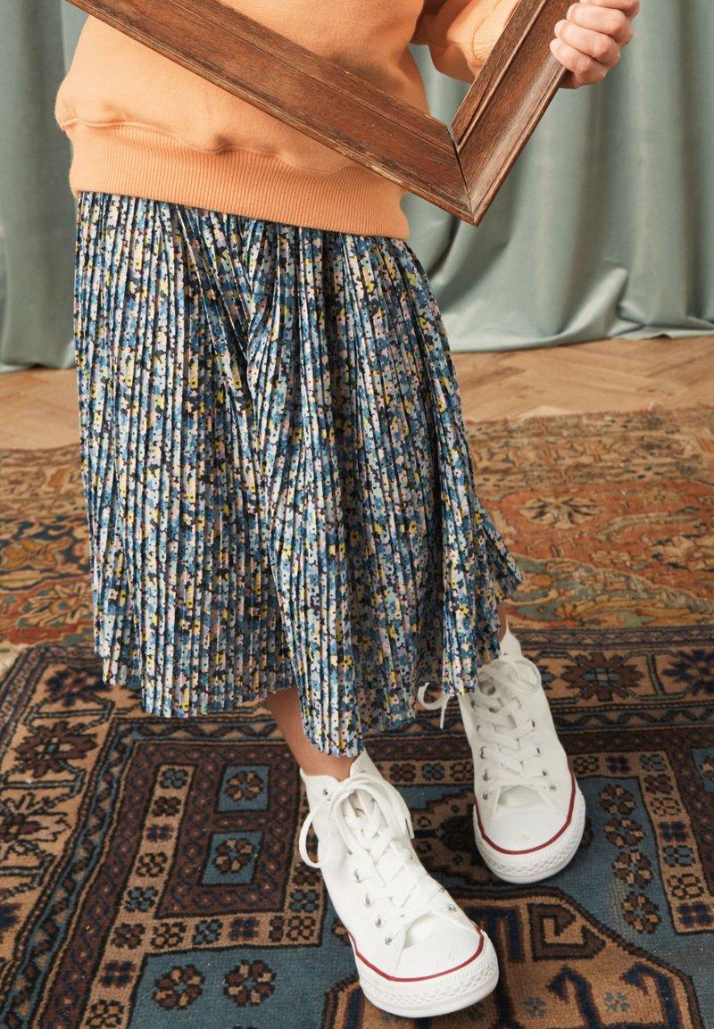 Next - A-line skirt - blue