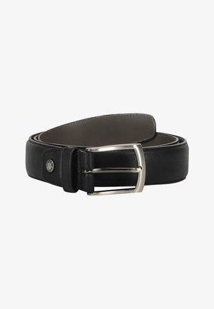 Belt - black plain