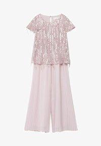Mango - Kalhoty - rosa pastello - 0