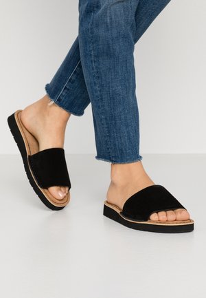 LUNAN SLIDE - Mules - black