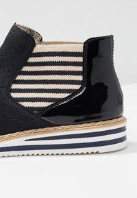 Rieker - Ankle boots - nightblue/pazifik/marine/beige/navy - 2