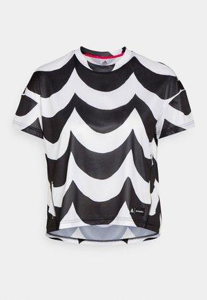 MARIMEKKO TEE - Funkční triko - black/white
