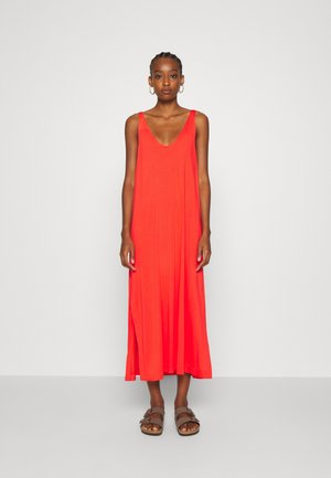 ABBY DRESS - Maxi-jurk - bright red