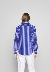 Polo Ralph Lauren - GEORGIA LONG SLEEVE SHIRT - Košile - blue/white - 2
