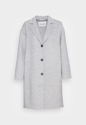 REAL DOUBLE FACE WORKMANSHIP SINGLE BREASTED - Classic coat - foggy melange