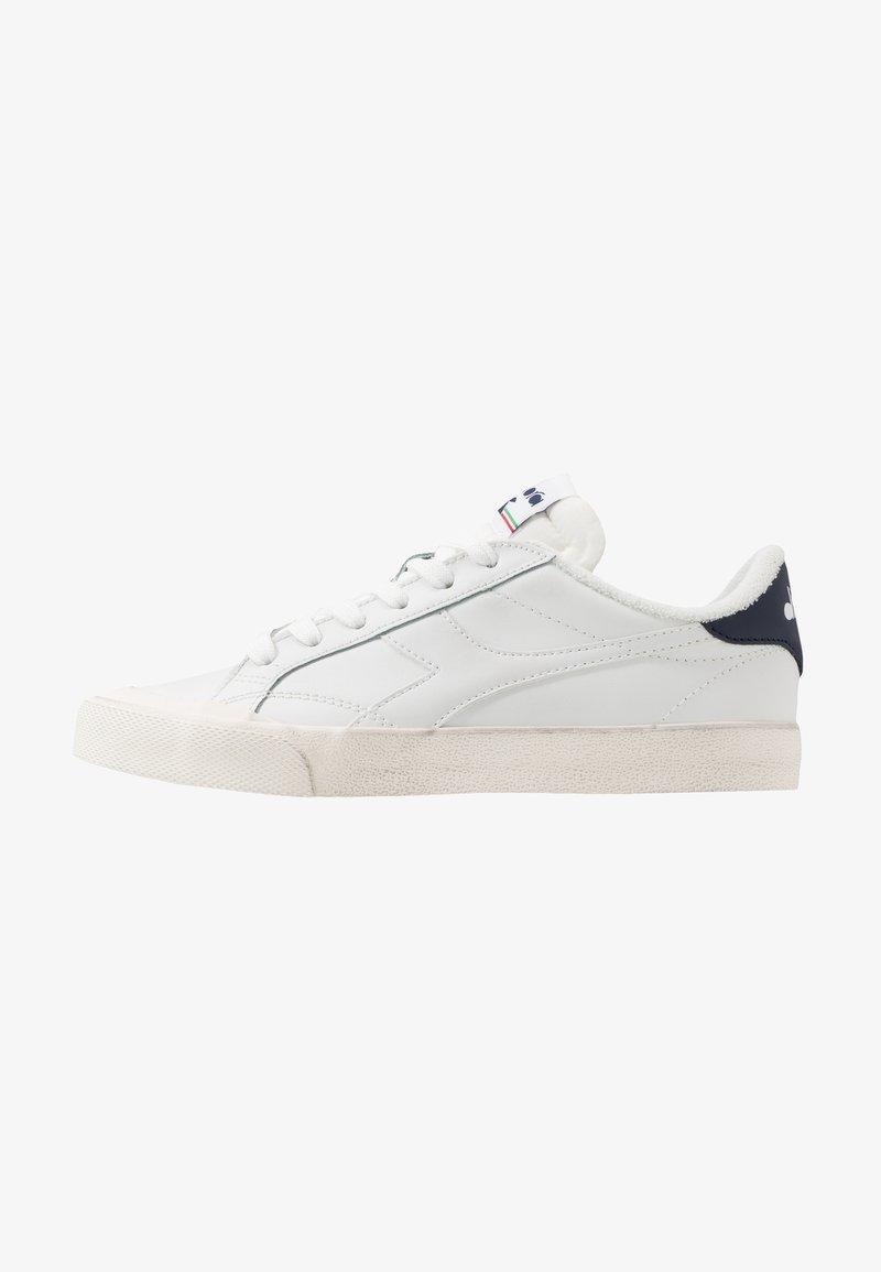 Diadora - MELODY DIRTY - Trainers - white/corsair