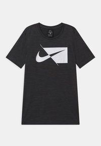 Nike Performance - DRY  - T-shirt print - mottled grey - 0