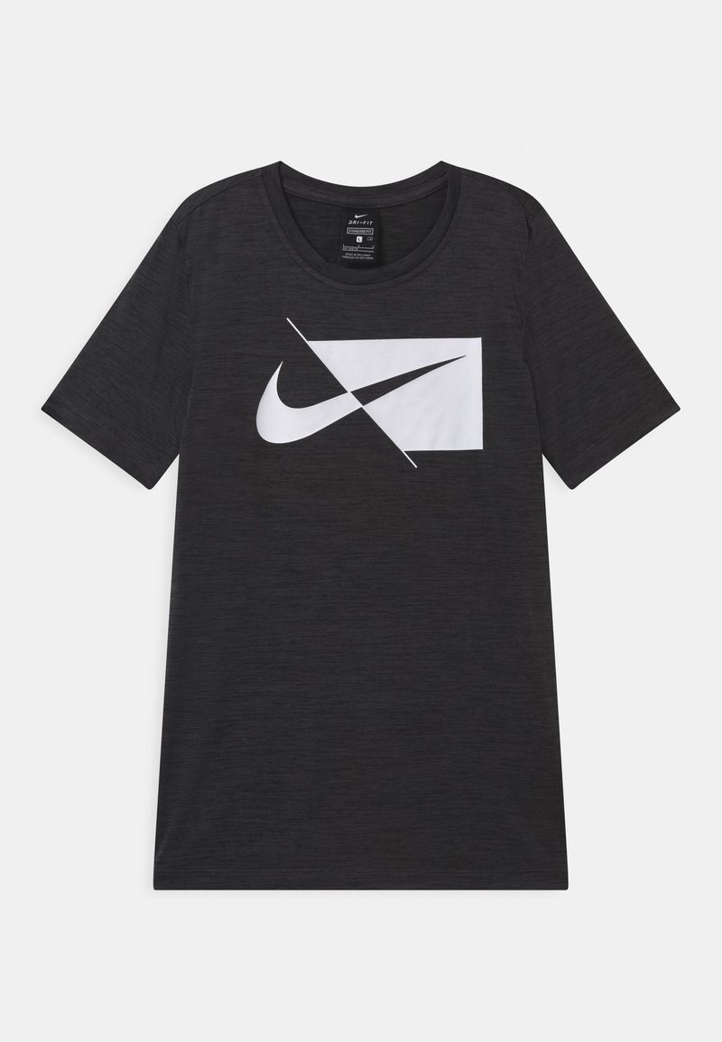 Nike Performance - DRY  - T-shirt print - mottled grey