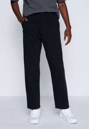JAY PANT - Džíny Straight Fit - black