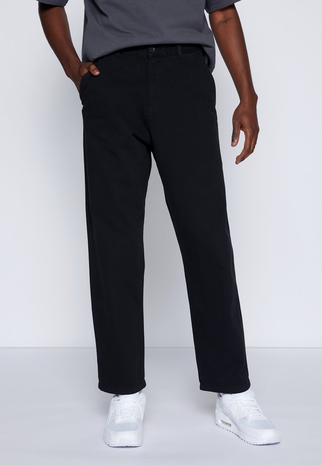 JAY PANT - Chino kalhoty - black