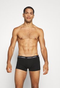 Jack & Jones - JACSUMMER COLORS TRUNKS 5 PACK - Pants - black/gold fusion/chili/ever green - 5