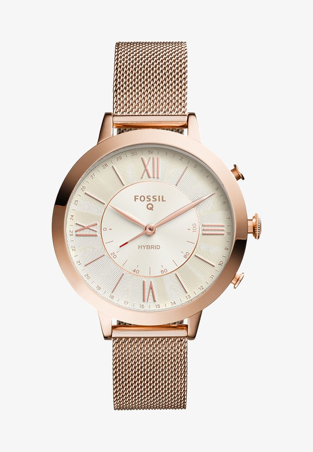 Q JACQUELINE - Montre - roségold-coloured