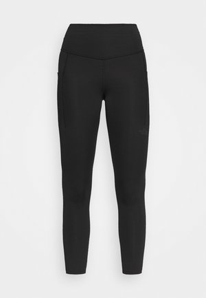 MOTIVATION POCKET - Leggings - black