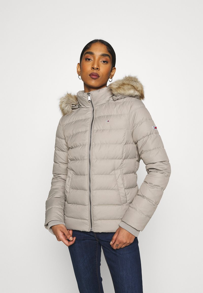Tommy Jeans - BASIC - Down jacket - mourning dove