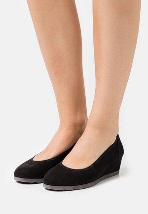 Escarpins compensés - black