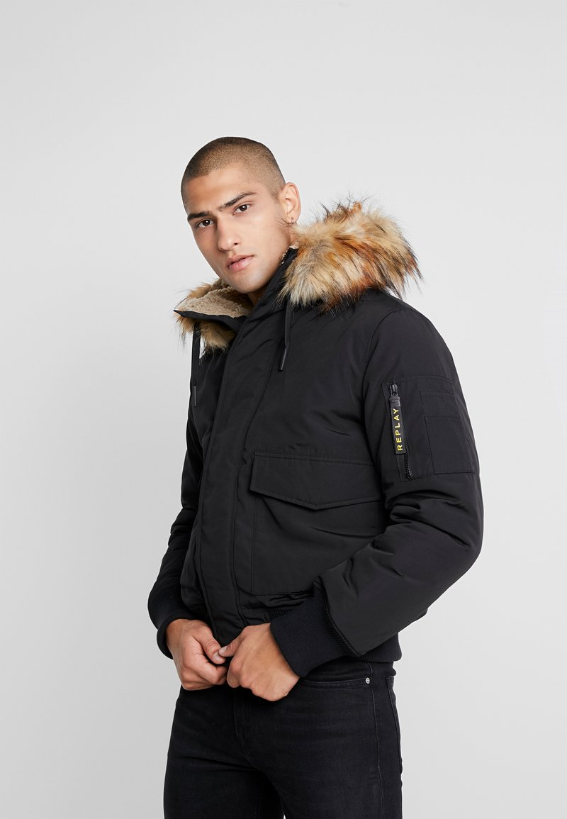 Replay - Winter jacket - black