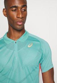 ASICS - TENNIS - Sports shirt - techno cyan - 5
