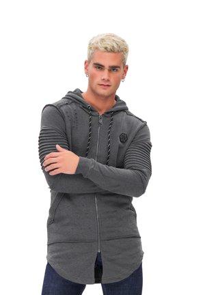 KAPUZENSWEATSHIRT MAN SWEATSHIRT - Sweater met rits - grey