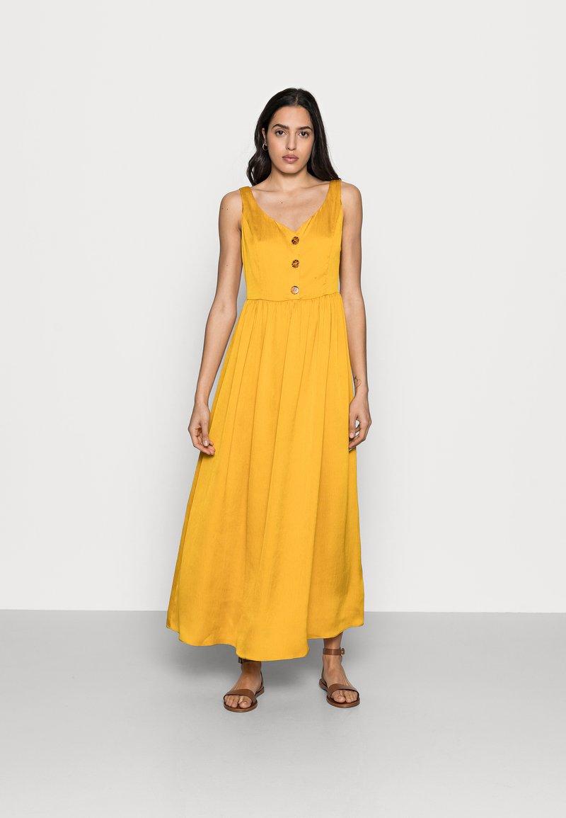 NAF NAF - PALERME - Denní šaty - moutarde