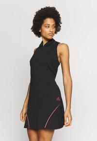 adidas Golf - DRESS - Sukienka z dżerseju - black - 0