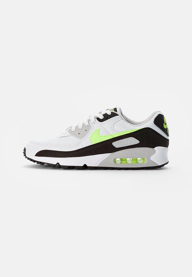 AIR MAX - Sneakers laag - white/hot lime-black-neutral grey