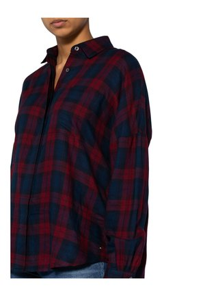 Button-down blouse - redtartan
