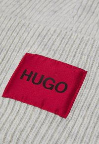HUGO - XAFF RIBBED LOGO - Čepice - grey - 3