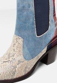 Desigual - Classic ankle boots - blue - 6