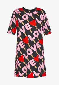 Love Moschino - Korte jurk - black - 4