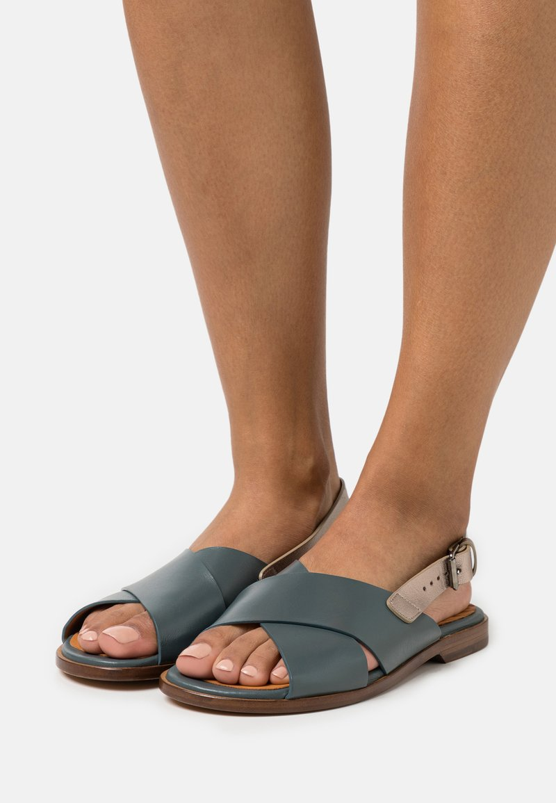 Chie Mihara - Sandals - freya petrol/dali iron