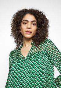 Diane von Furstenberg - HEIDI DRESS - Vapaa-ajan mekko - medium green - 3