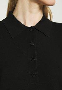 Marc O'Polo - DRESS LONGSLEEVE COLLAR WITH - Jumper dress - black - 5