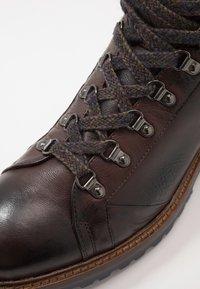 Giorgio 1958 - Lace-up ankle boots - frida testa di moro - 5