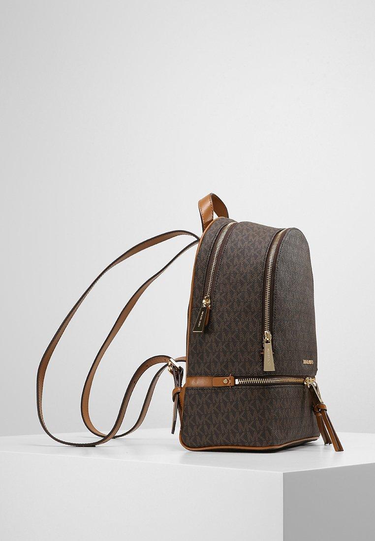 RHEA ZIP BACK PACK - Sac à dos - brown