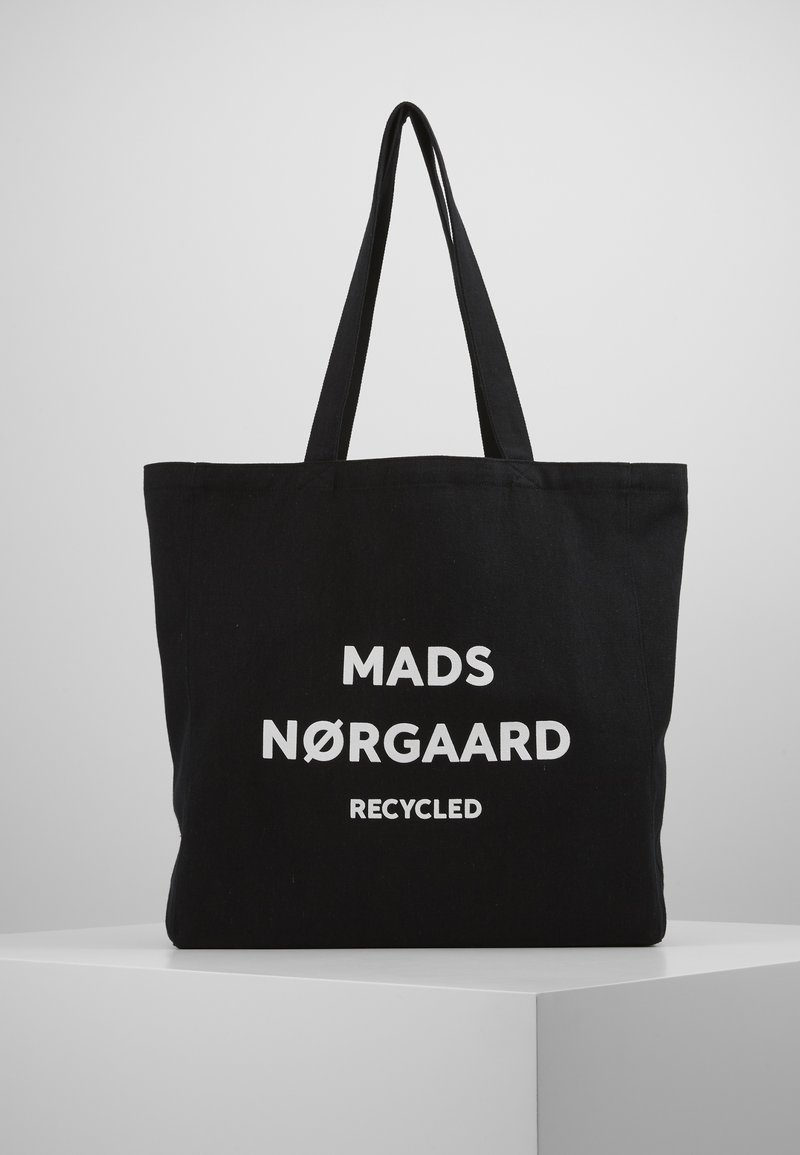 Mads Nørgaard - BOUTIQUE ATHENE - Tote bag - black/white