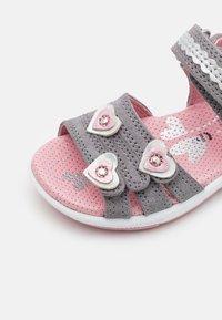 Superfit - EMILY - Sandals - hellgrau/rosa - 5