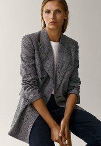 Massimo Dutti - Short coat - grey - 3