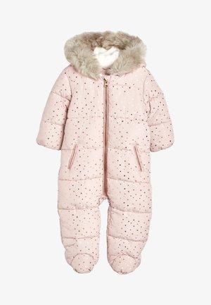 Lyžařská kombinéza - pink