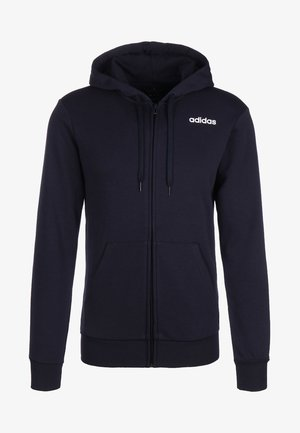 LINEAR FRENCH - Zip-up hoodie - blue