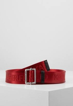 LOGO BELT - Belt - red